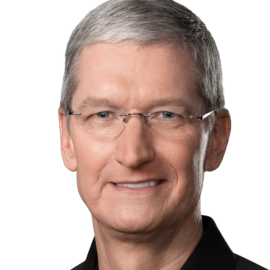 Tim Cook Headshot