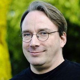 Linus Torvalds Headshot