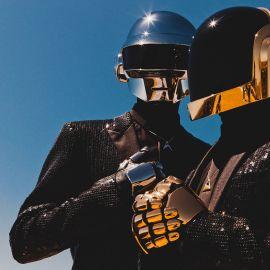 Daft Punk Headshot