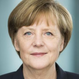 Angela Merkel Headshot