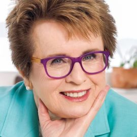 Billie Jean King Headshot