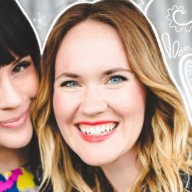 Elsie Larson and Emma Chapman Headshot