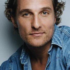 Matthew McConaughey Headshot
