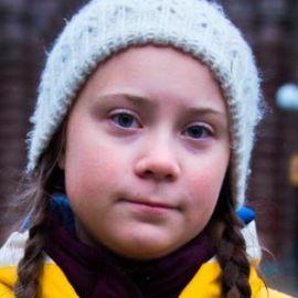 Greta Thunberg Headshot