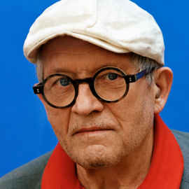 David Hockney Headshot