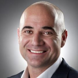 Andre Agassi Headshot