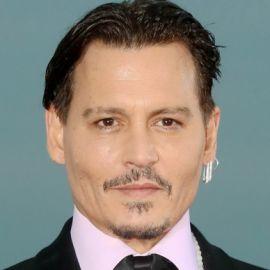 Johnny Depp Headshot