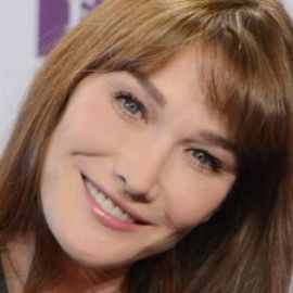 Carla Bruni Headshot
