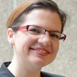 Lydia Makaroff, PhD Headshot
