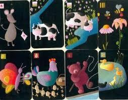 exemple de cartes du jeu Mistigri