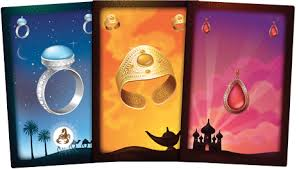 cartes du jeu Aladin et la lampe merveillesue
