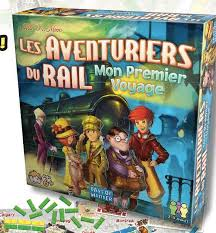 boite du jeu les aventuriers du rail mon premier voyage