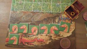 le dragon du trésor des lutins