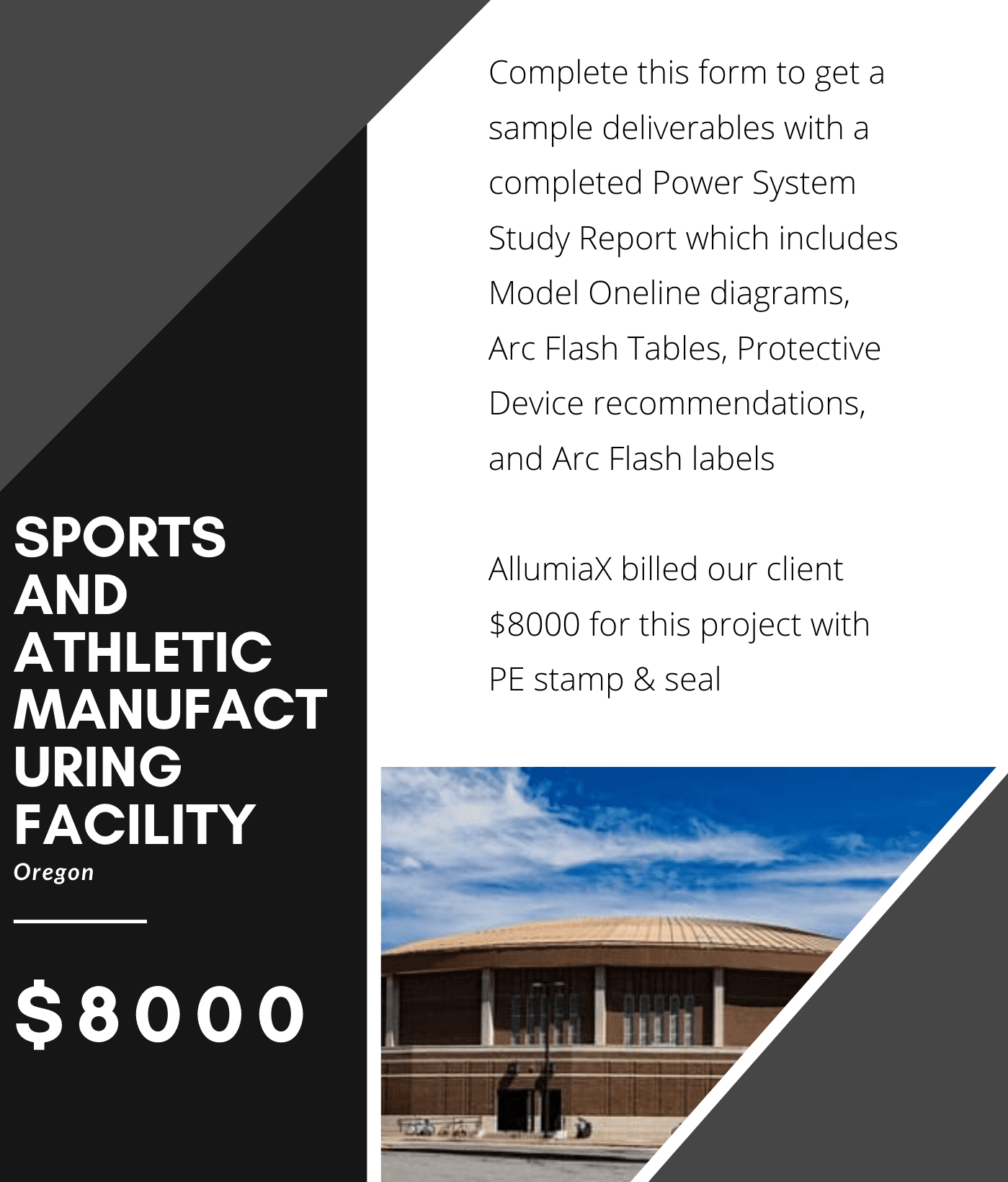Sports and Athletic Manufacturing Facility in Oregon