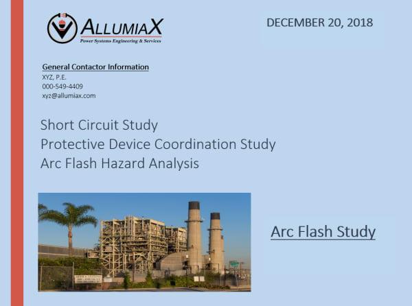 Arc Flash Comprehensive Study