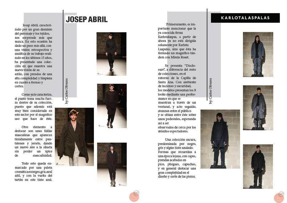 estrés combustible Secretario  Carlos Olivares. Freelance fashion designer and stylist.