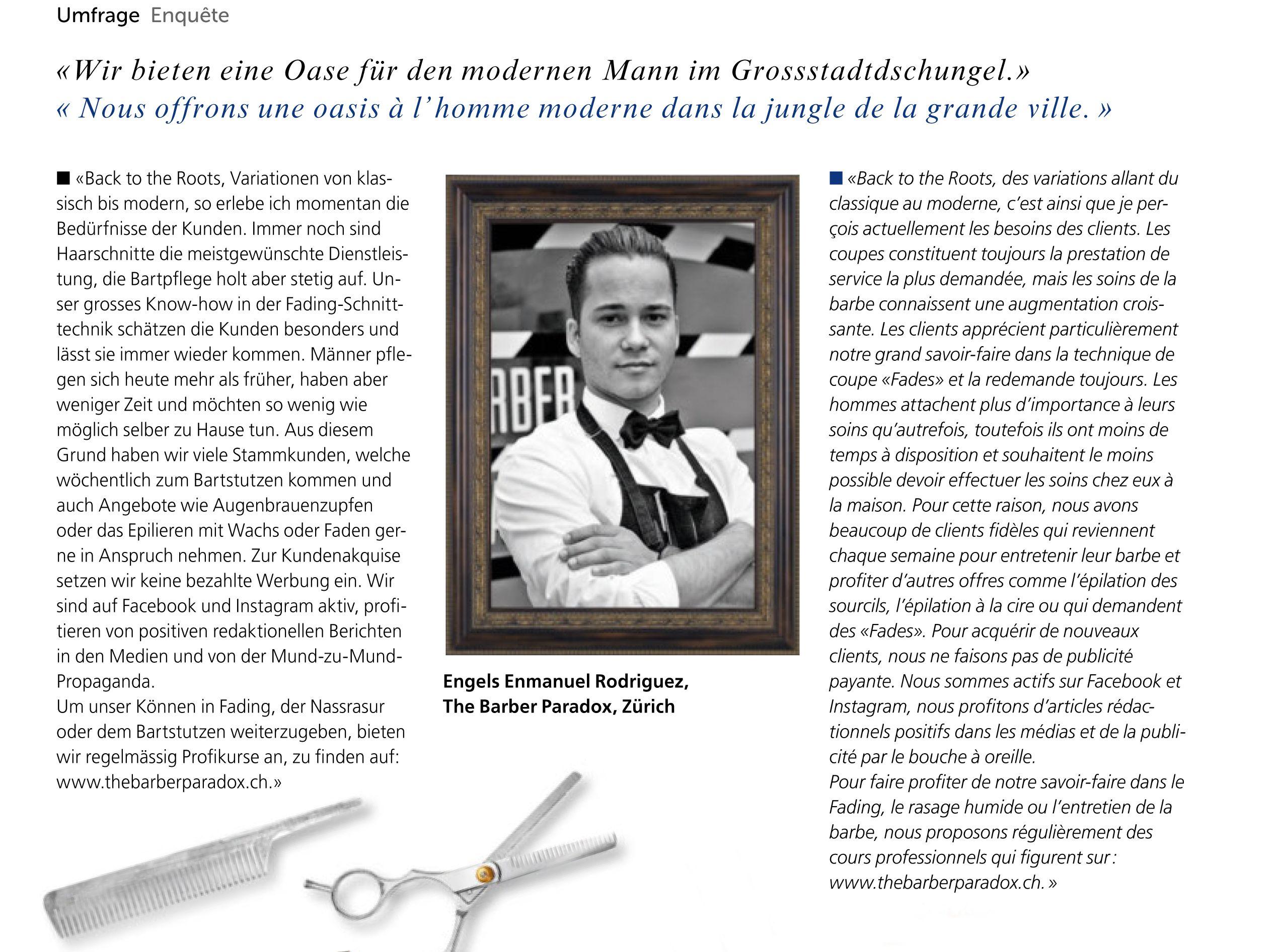 Best Barber In Zurich The Barber Paradox