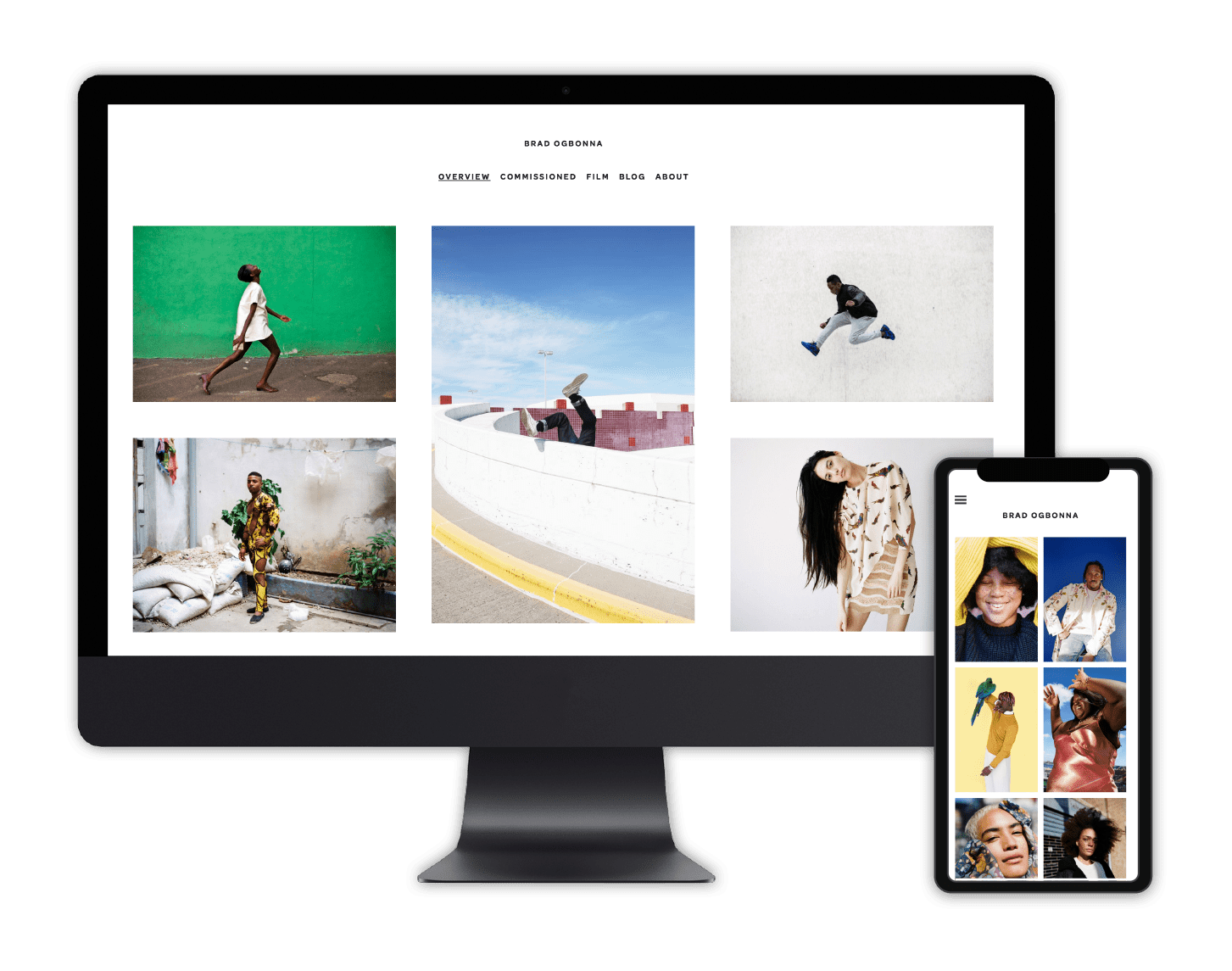 Allyou Online Portfolio Website Builder
