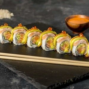 401.Crazy Salmon Roll