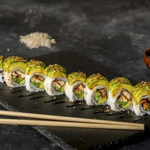 406.Chicken Teriyaki Roll