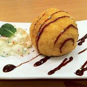 113.Kızarmış Dondurma / Fried Ice Cream