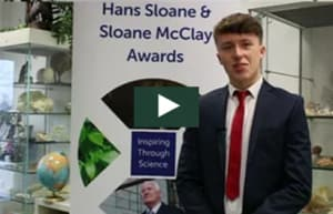 Jamie Brannigan at Sloane McClay Awards Jan 2018