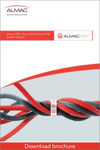 Almac One Unified Clinical Trial Supply Solution Brochure
