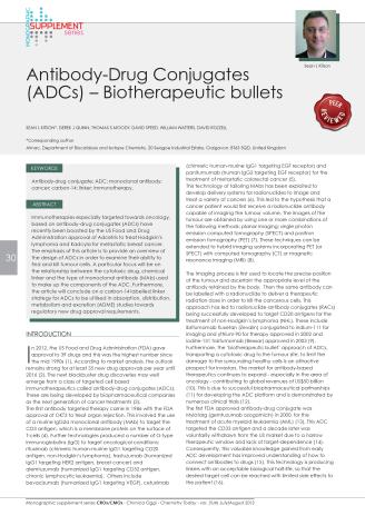 Antibody-Drug Conjugates (ADCs) – Biotherapeutic bullets