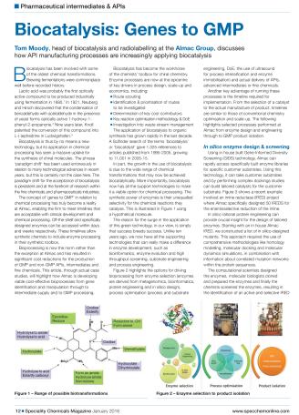 Biocatalysis: Genes to GMP
