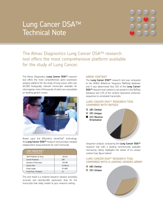 Lung Cancer DSATM Technical Note