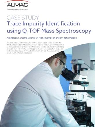 Trace Impurity Identification using Q-TOF Mass Spectroscopy