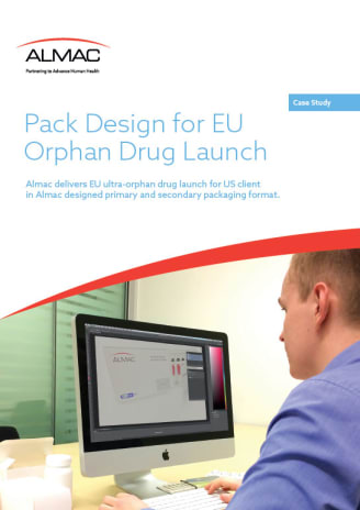 Pack Design for EU Orphan Drug Launch
