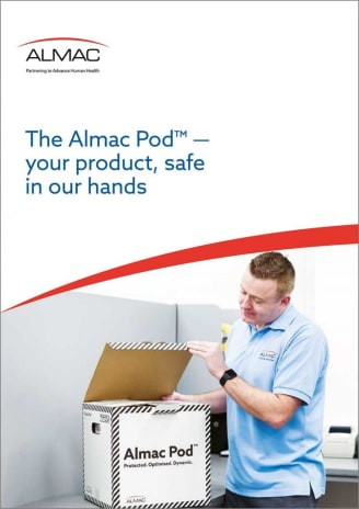 The Almac Pod™ — your product, safe in our hands