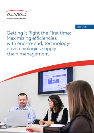 Case Study: Maximizing efficiencies with effective biologics supply chain management