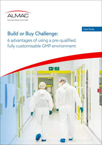 Build or Buy Challenge: 6 advantages of using a pre-qualified, fully customisable GMP environment