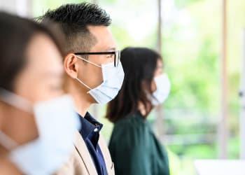 Ilustrasi New Normal: Penggunaan diksi new normal selama pandemi Covid-19 dinilai sulit dipahami oleh masyarakat. Akibatnya, pemerintah mengubah diksi tersebut menjadi adaptasi kebiasaan baru.