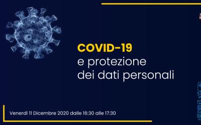 Webinar – Covid-19 e protezione dei dati personali