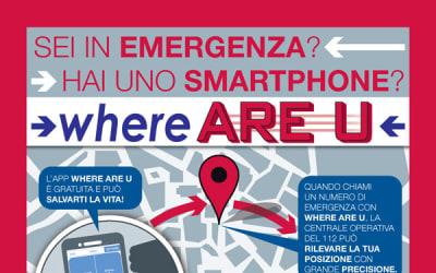 Where Are U: una App che può salvarti la vita