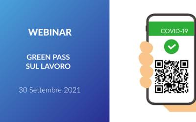 Webinar – Green Pass sul lavoro