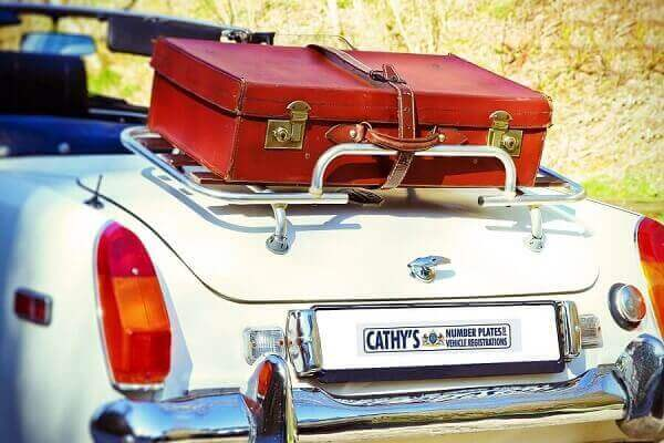 Cathy's Vehicle Registrations