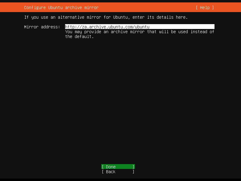 Setup Linux Server Raid 1 Step 6 Screenshot