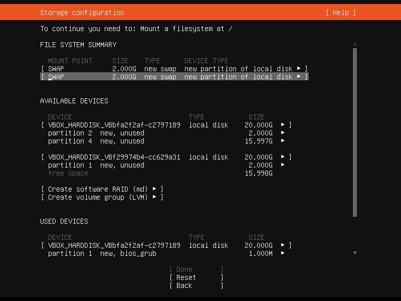 Setup Linux Server Raid 1 Step 20 Screenshot