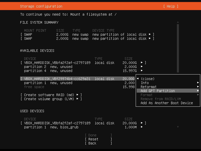 Setup Linux Server Raid 1 Step 21 Screenshot