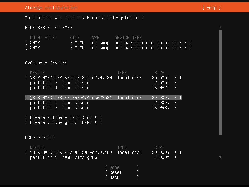 Setup Linux Server Raid 1 Step 23 Screenshot