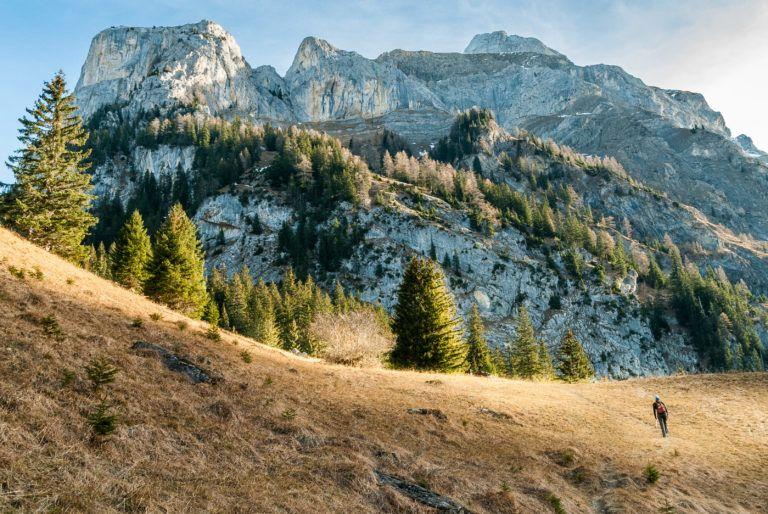 Die Walliser Wispile – aus dem eisigen Tal in die wärmende Sonne