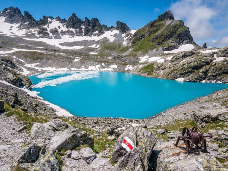 5-Seen-Wanderung Pizol mit Gipfel