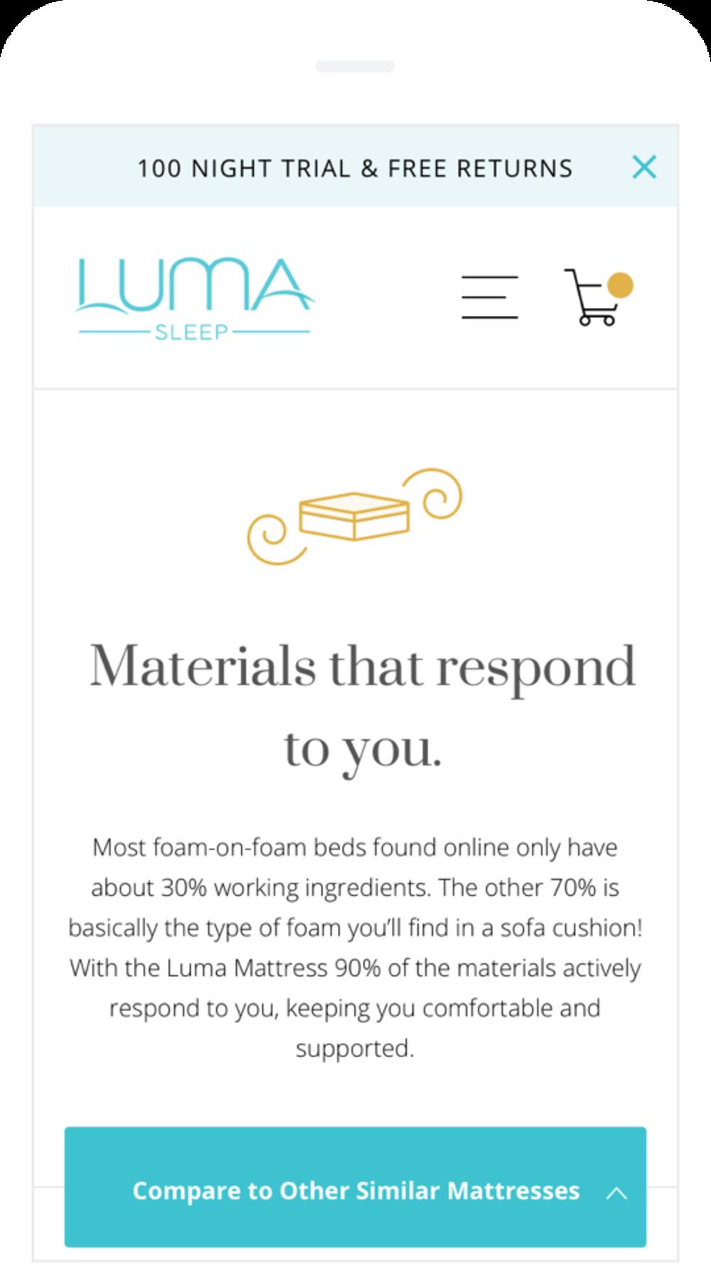 Luma Sleep Image