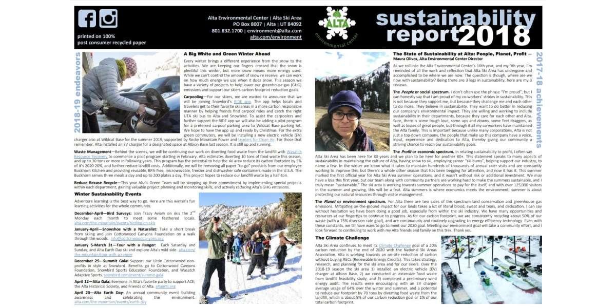 AEC Susainability Report