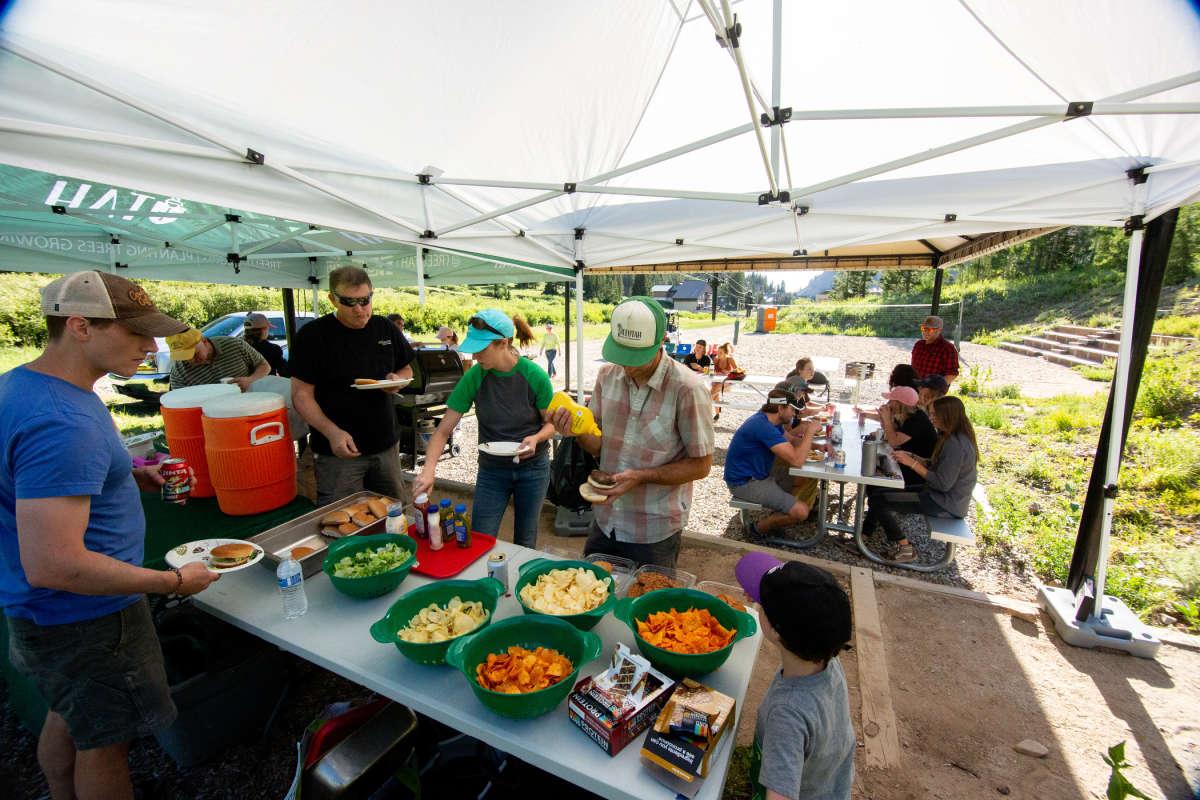 Volunteer Day community party