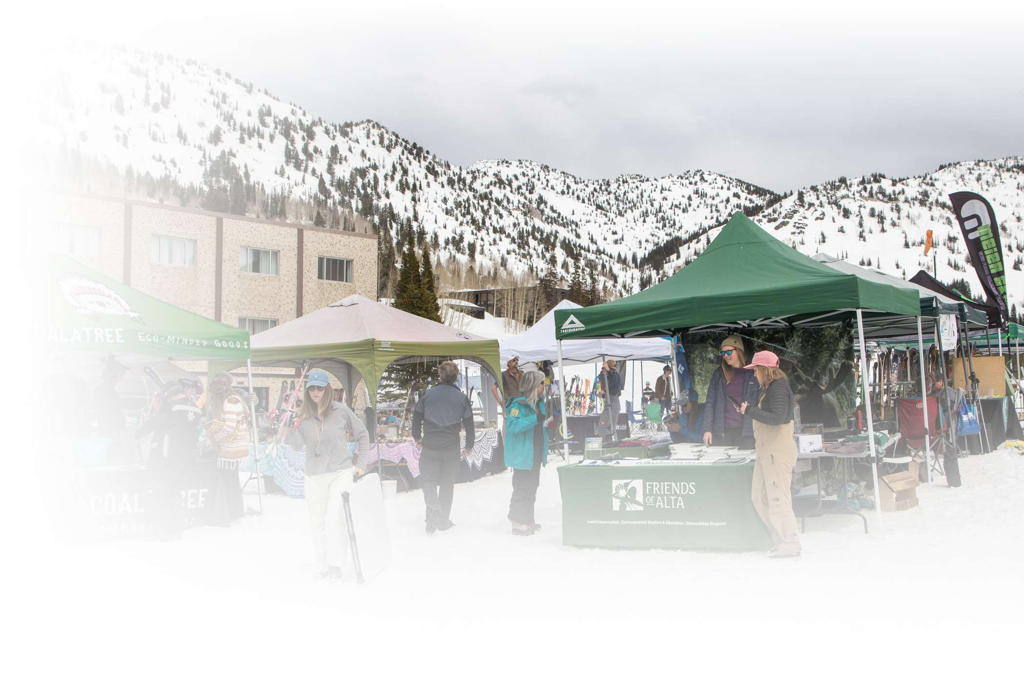 Alta Earth Day Marquee